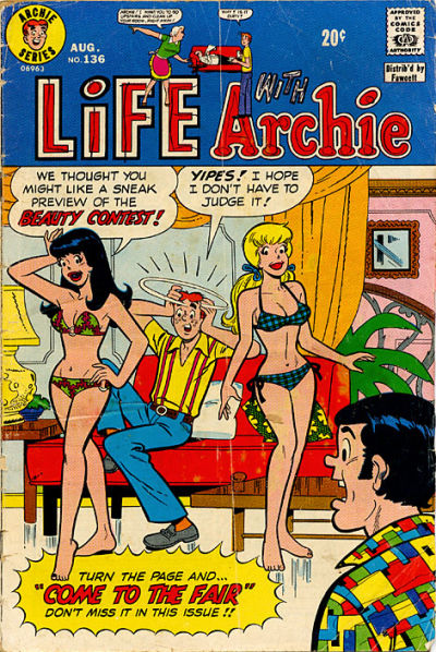 Cover for Life with Archie (Archie, 1958 series) #136