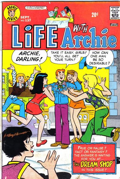 Cover for Life with Archie (Archie, 1958 series) #137