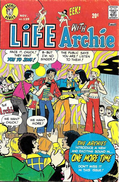 Cover for Life with Archie (Archie, 1958 series) #139