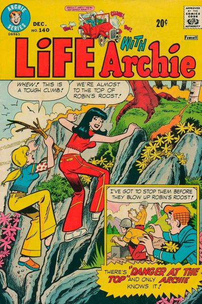 Cover for Life with Archie (Archie, 1958 series) #140