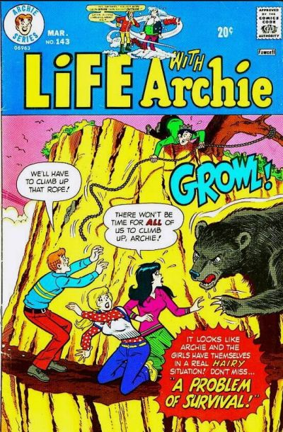 Cover for Life with Archie (Archie, 1958 series) #143