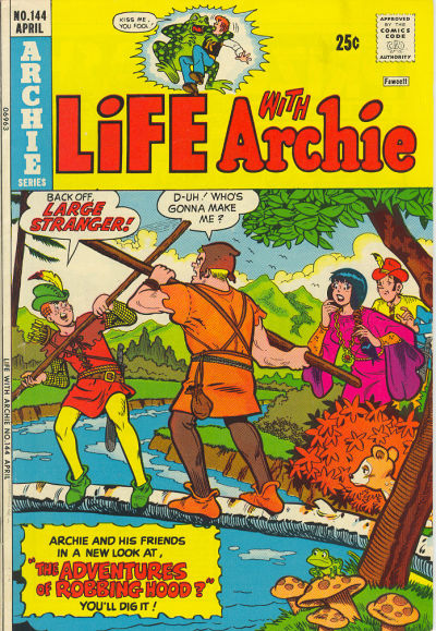 Cover for Life with Archie (Archie, 1958 series) #144