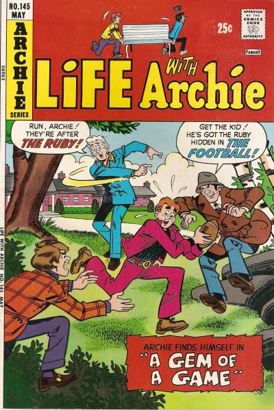 Cover for Life with Archie (Archie, 1958 series) #145