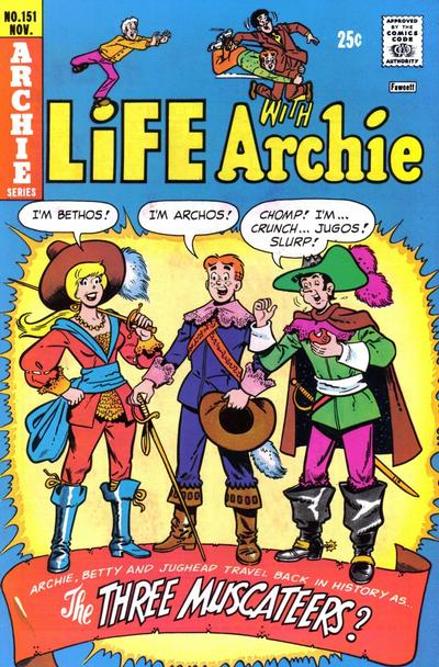 Cover for Life with Archie (Archie, 1958 series) #151