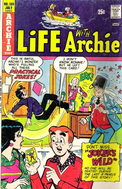Cover for Life with Archie (Archie, 1958 series) #159