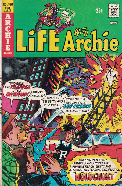 Cover for Life with Archie (Archie, 1958 series) #160
