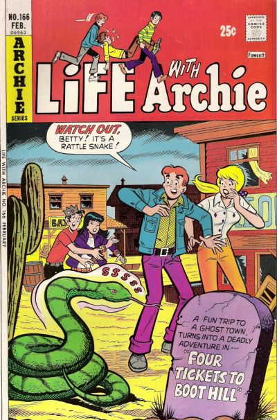 Cover for Life with Archie (Archie, 1958 series) #166