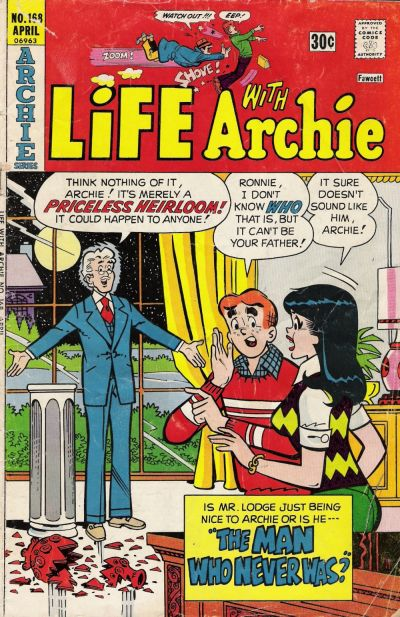 Cover for Life with Archie (Archie, 1958 series) #168