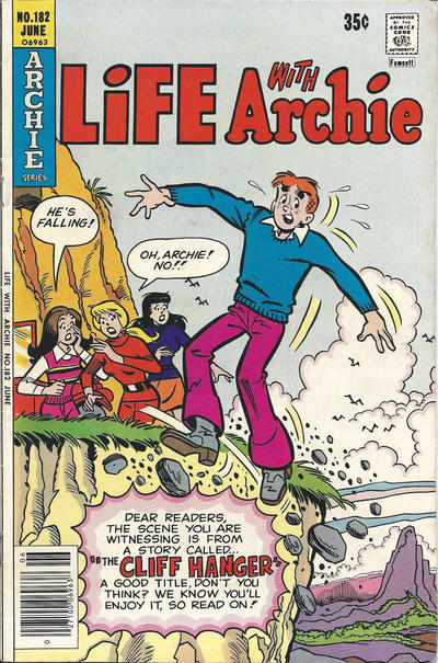 Cover for Life with Archie (Archie, 1958 series) #182