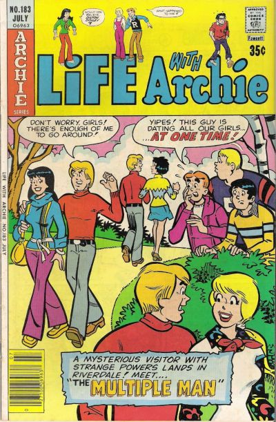Cover for Life with Archie (Archie, 1958 series) #183