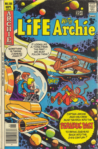 Cover for Life with Archie (Archie, 1958 series) #185
