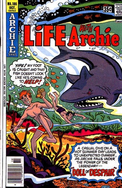 Cover for Life with Archie (Archie, 1958 series) #186