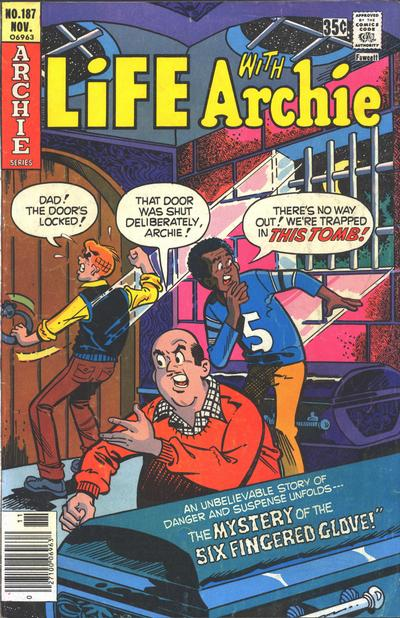 Cover for Life with Archie (Archie, 1958 series) #187