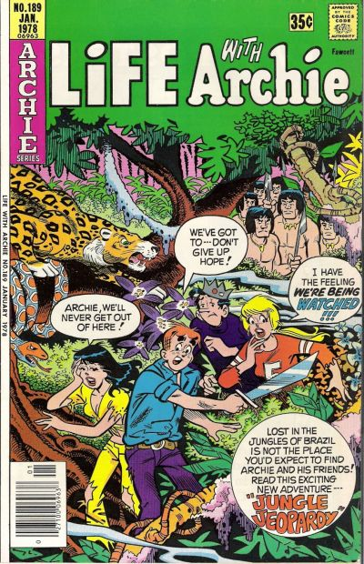 Cover for Life with Archie (Archie, 1958 series) #189