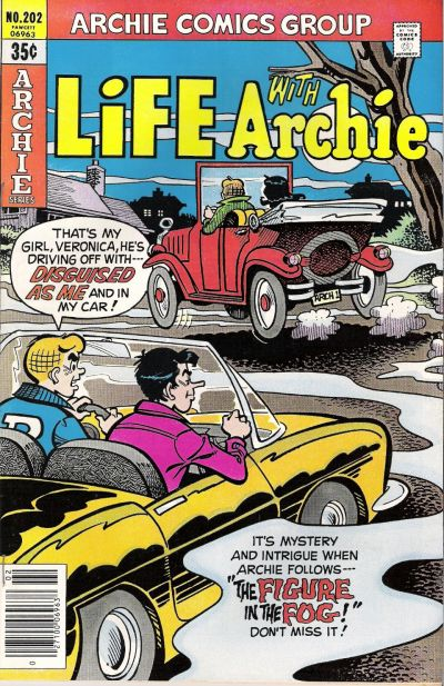Cover for Life with Archie (Archie, 1958 series) #202