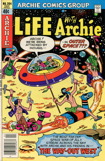 Cover for Life with Archie (Archie, 1958 series) #204