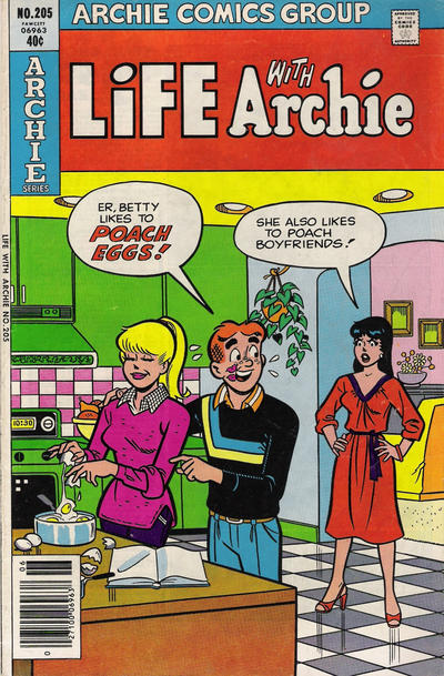 Cover for Life with Archie (Archie, 1958 series) #205