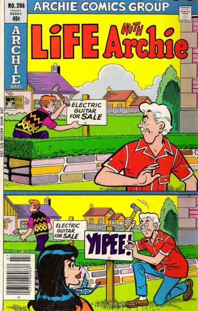 Cover for Life with Archie (Archie, 1958 series) #206