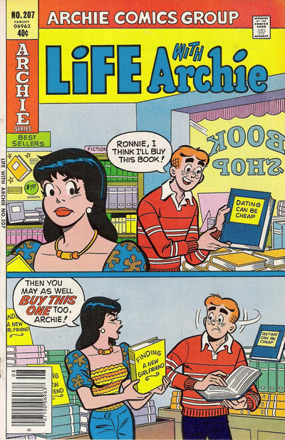 Cover for Life with Archie (Archie, 1958 series) #207