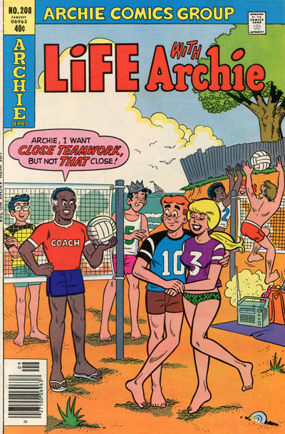 Cover for Life with Archie (Archie, 1958 series) #208