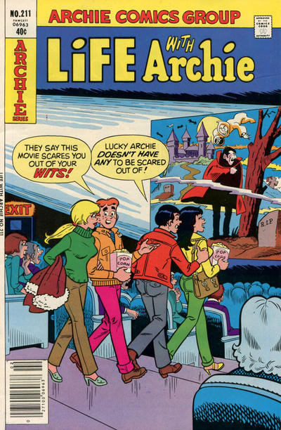 Cover for Life with Archie (Archie, 1958 series) #211