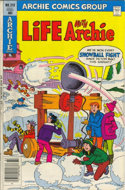 Cover for Life with Archie (Archie, 1958 series) #212