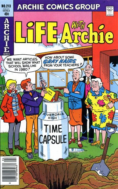 Cover for Life with Archie (Archie, 1958 series) #213