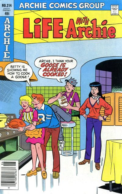 Cover for Life with Archie (Archie, 1958 series) #214