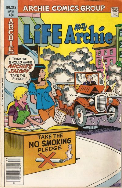 Cover for Life with Archie (Archie, 1958 series) #215