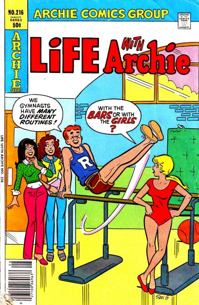 Cover for Life with Archie (Archie, 1958 series) #216