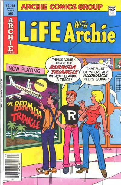 Cover for Life with Archie (Archie, 1958 series) #218