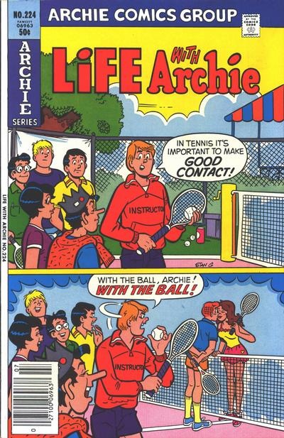 Cover for Life with Archie (Archie, 1958 series) #224