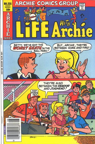 Cover for Life with Archie (Archie, 1958 series) #225