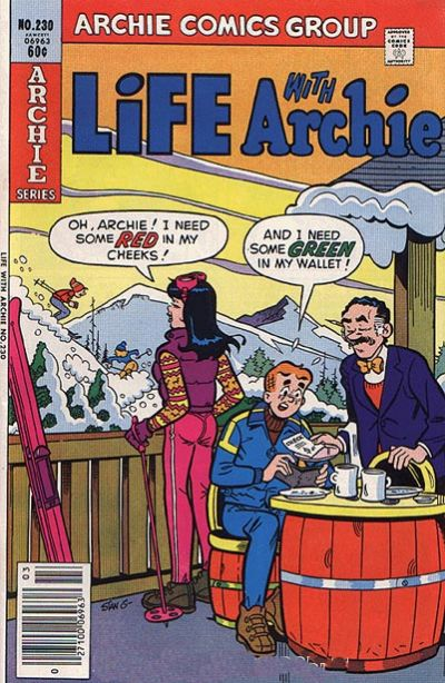Cover for Life with Archie (Archie, 1958 series) #230