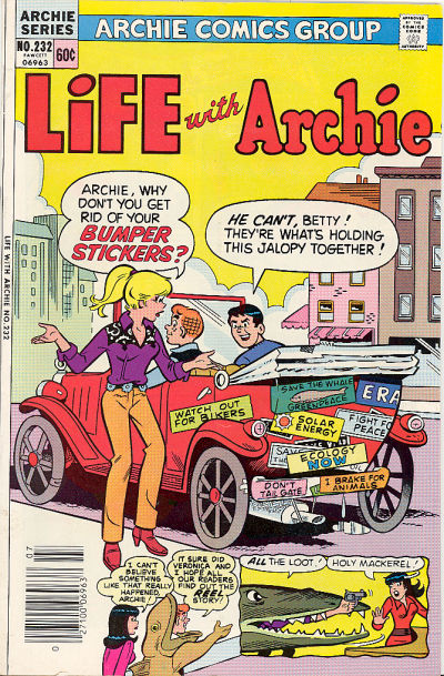 Cover for Life with Archie (Archie, 1958 series) #232