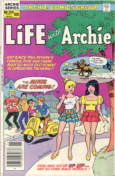 Cover for Life with Archie (Archie, 1958 series) #234