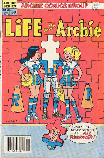 Cover for Life with Archie (Archie, 1958 series) #235