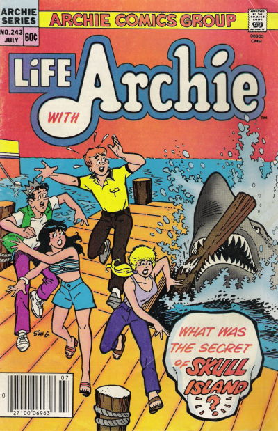 Cover for Life with Archie (Archie, 1958 series) #243