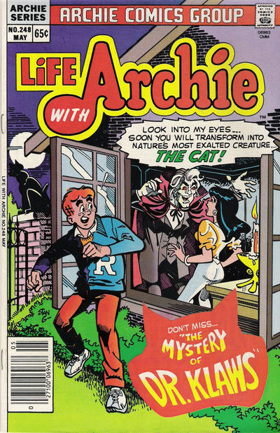 Cover for Life with Archie (Archie, 1958 series) #248