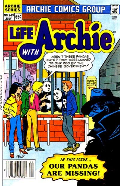Cover for Life with Archie (Archie, 1958 series) #249