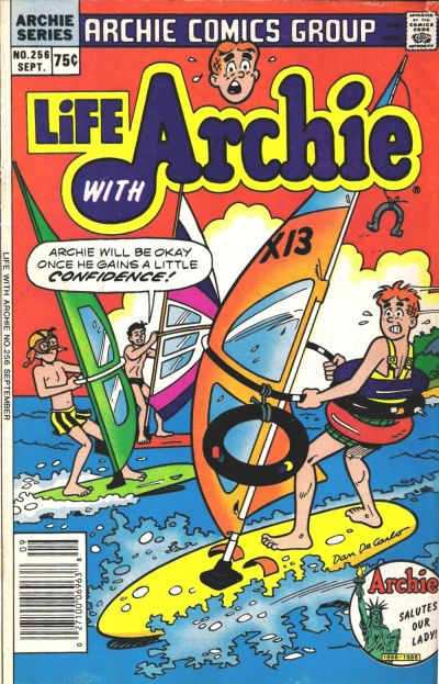 Cover for Life with Archie (Archie, 1958 series) #256