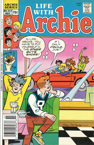 Cover for Life with Archie (Archie, 1958 series) #257