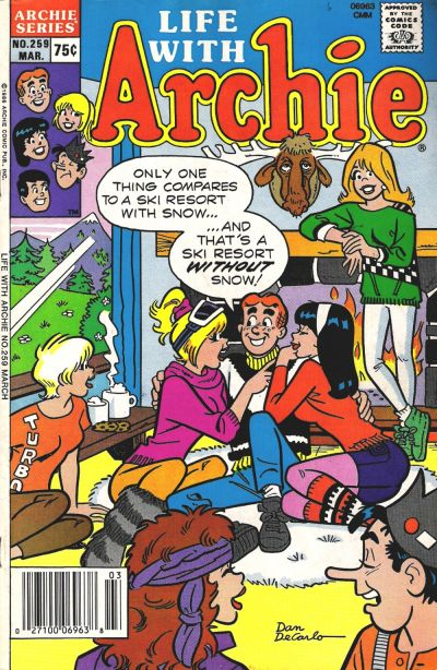 Cover for Life with Archie (Archie, 1958 series) #259