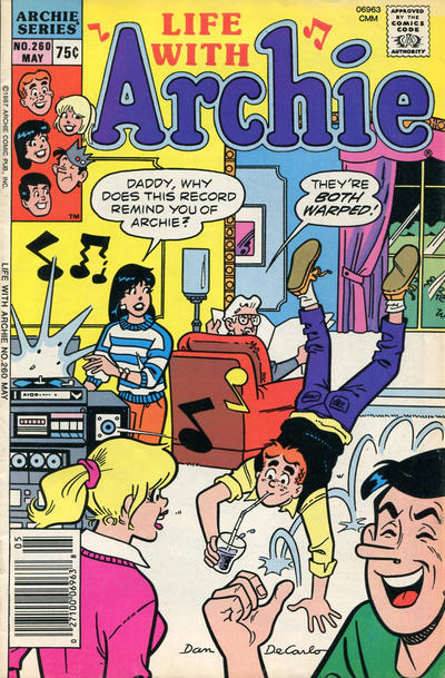 Cover for Life with Archie (Archie, 1958 series) #260