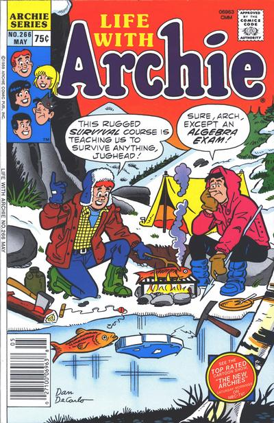 Cover for Life with Archie (Archie, 1958 series) #266
