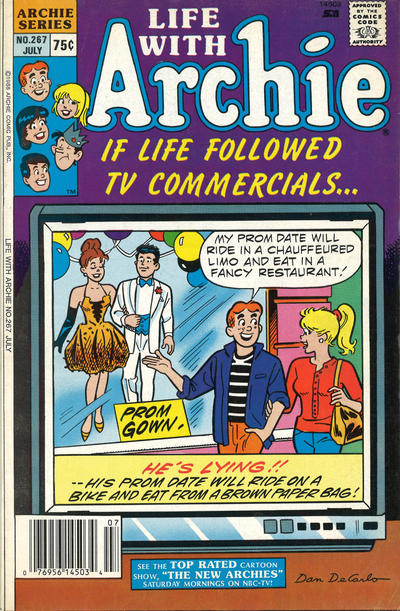 Cover for Life with Archie (Archie, 1958 series) #267