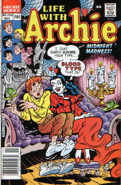 Cover for Life with Archie (Archie, 1958 series) #269