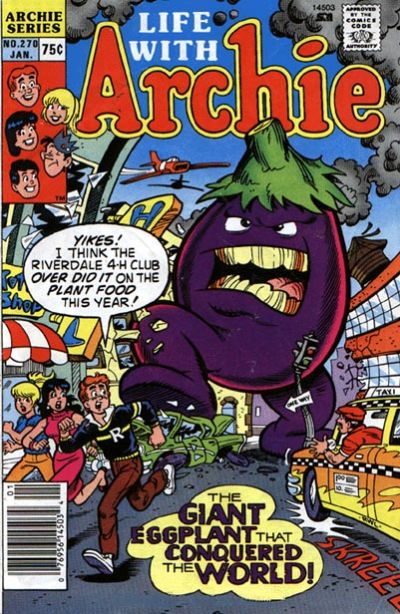 Cover for Life with Archie (Archie, 1958 series) #270 [Direct]