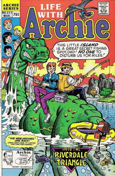 Cover for Life with Archie (Archie, 1958 series) #271