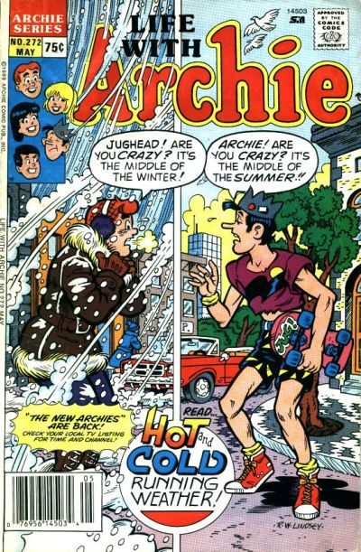Cover for Life with Archie (Archie, 1958 series) #272